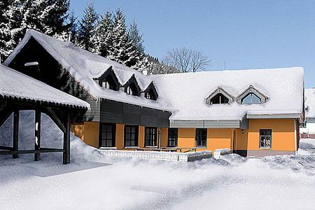 Ubytování Krkonoše - Penzion u sjezdovky v Krkonoších - pohled zvenku