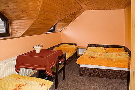 Ubytování Krkonoše - Penzion u sjezdovky v Krkonoších - pokoj